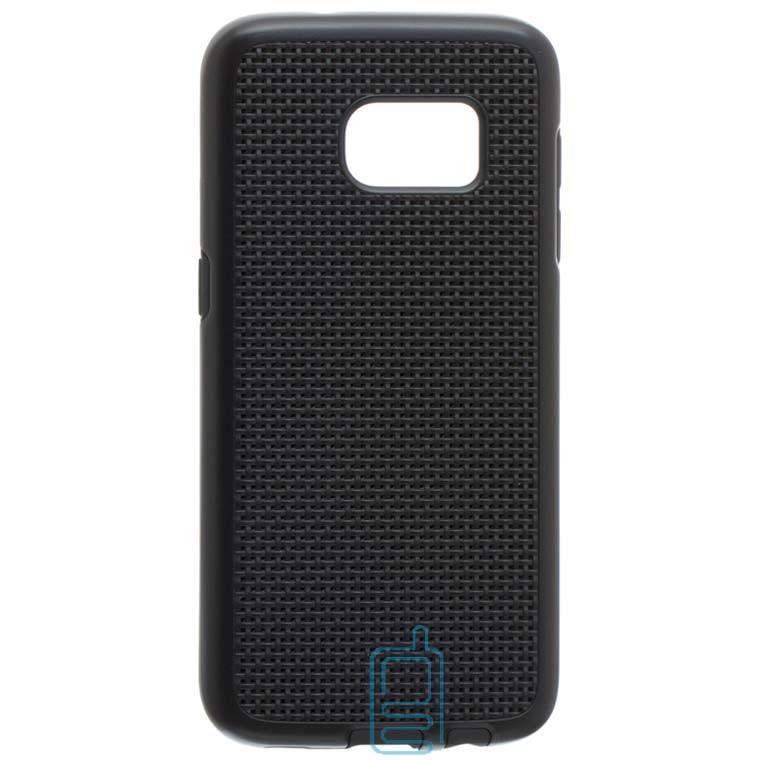 Чехол-накладка GINZZU Carbon X1 Samsung S7 G930 черный