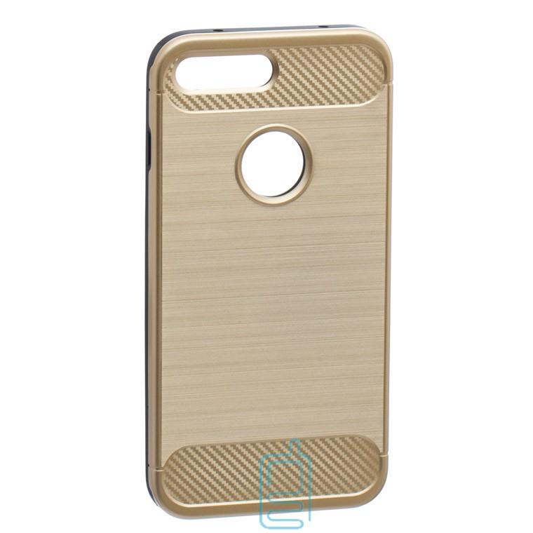 Чехол-накладка Motomo X6 Apple iPhone 7 Plus, 8 Plus золотистый