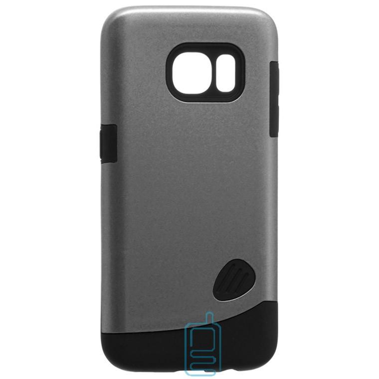 Чехол-накладка Motomo X4 Samsung S7 G930 серый