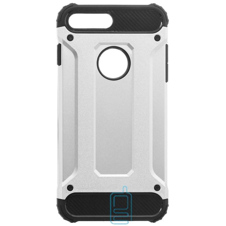 Чехол-накладка Motomo X5 Apple iPhone 7 Plus, 8 Plus серебристый
