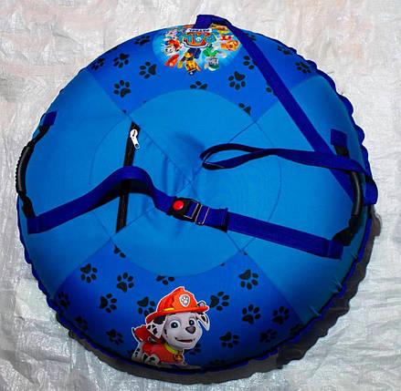 Надувні санки тюбінг Щенячий патруль для хлопчика 100 см, фото 2