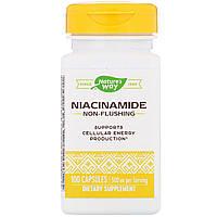 Никотинамид от Nature's Way, 500 мг, 100 капсул, фото 1