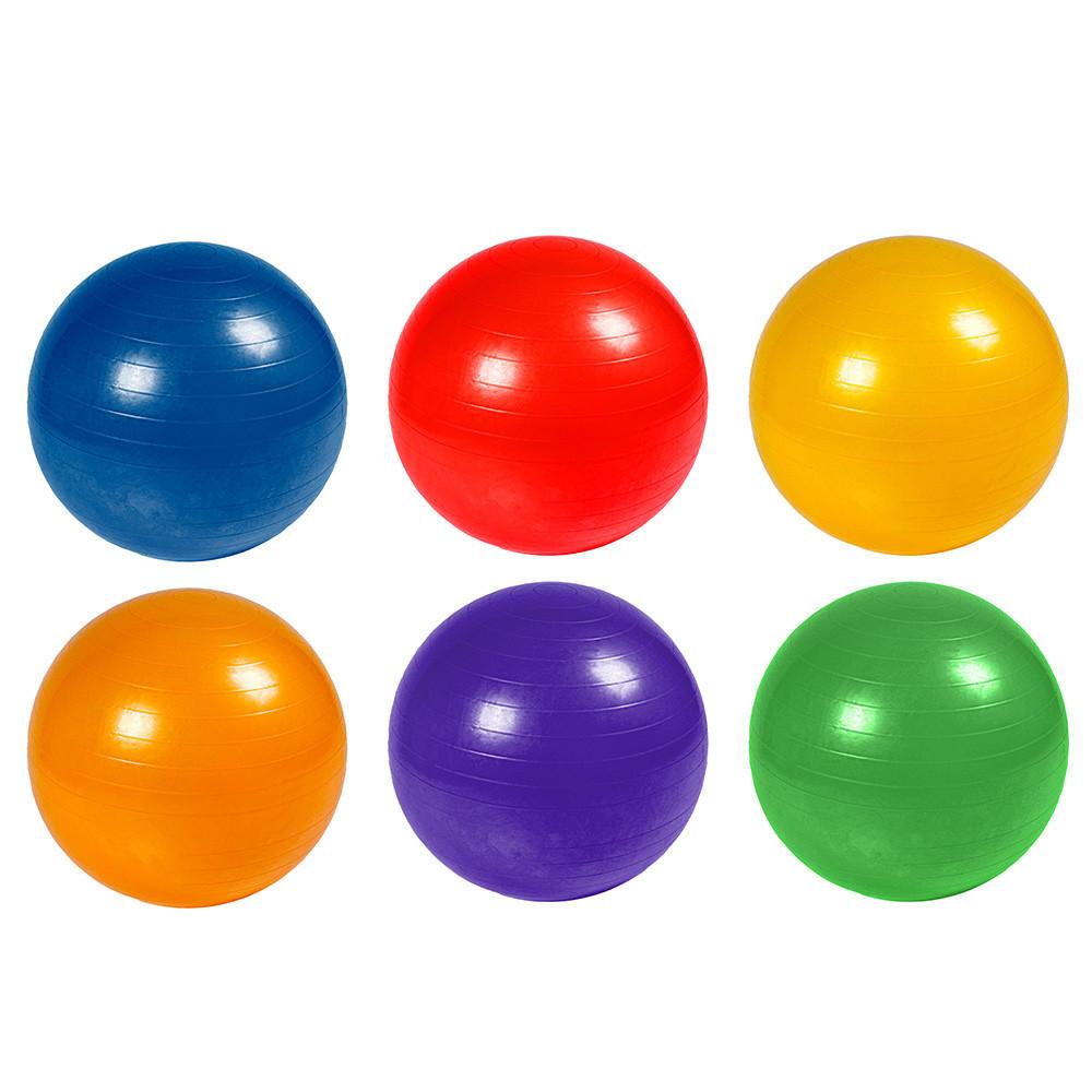 М'яч гумовий для фітнесу фітбол 75 см 1100 г 4 види BT-SFB-0010