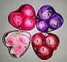 Подарочный набор роз из мыла (Маленький)