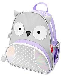 Детский рюкзак Skip Hop Zoo Pack (Zoo Little Kid Backpack) - Winter Owl (Зимняя Сова), 3+