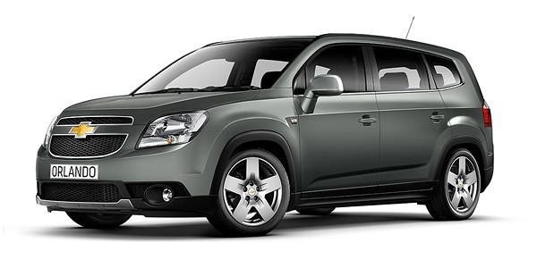 Chevrolet Orlando 2010↗ гг.