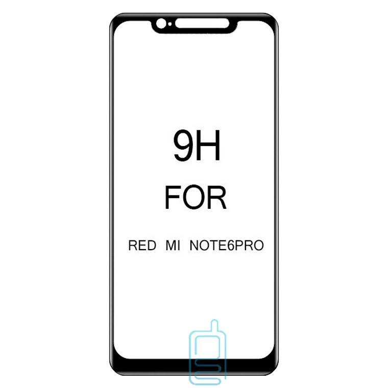 Защитное стекло 5D Xiaomi Redmi Note 6 Pro black тех.пакет