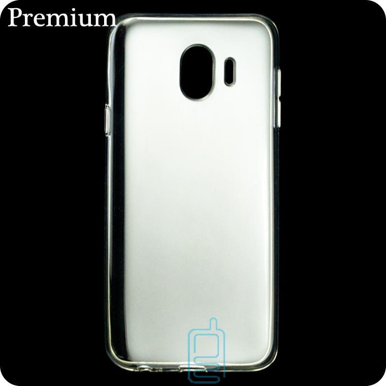 Чехол силиконовый Premium Samsung J4 2018 J400 прозрачный