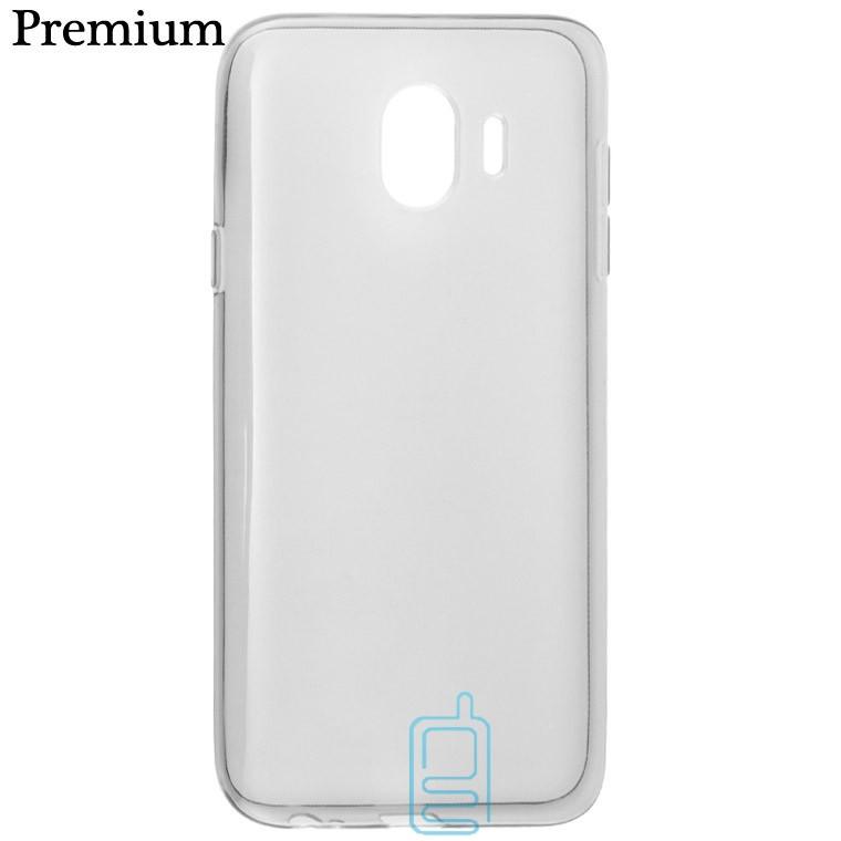 Чехол силиконовый Premium Samsung J4 2018 J400 затемненный