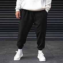 Мужские спортивные штаны черные Ф