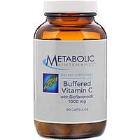 Буферизованный витамин C Metabolic Maintenance с биофлавономдами, 1000 мг, 90 капсул
