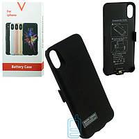Чехол-аккумулятор HK-08 Apple iPhone X/XS 5200 mAh черный