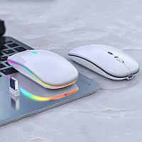 Беспроводная компьютерная мышь Wireless mouse 2.4 G со светодиодной подсветкой