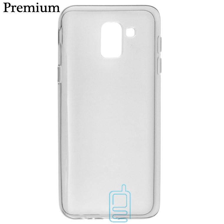 Чехол силиконовый Premium Samsung J6 2018 J600 затемненный
