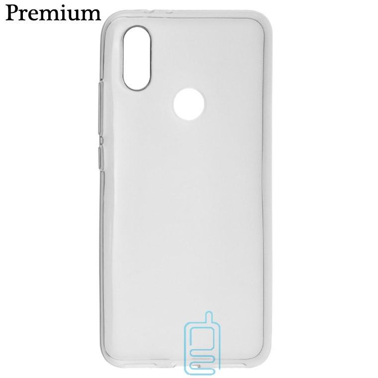 Чехол силиконовый Premium Xiaomi Mi6X, A2 затемненный