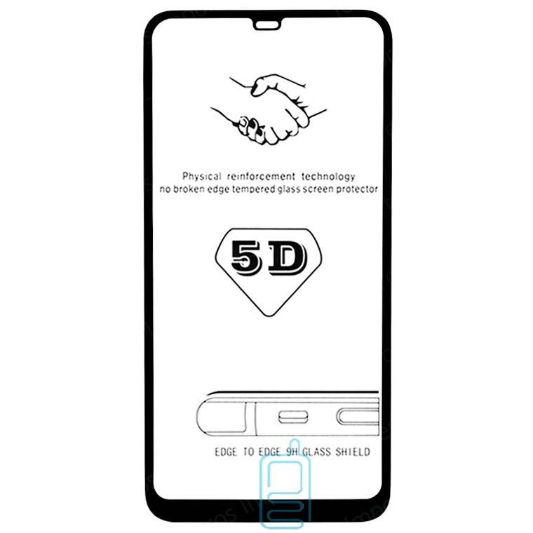 Защитное стекло 5D Xiaomi Mi 8, Mi 8 Pro black тех.пакет