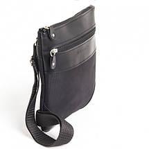 Мужская сумка через плечо тканевая черная Wallaby 1331942879, фото 3