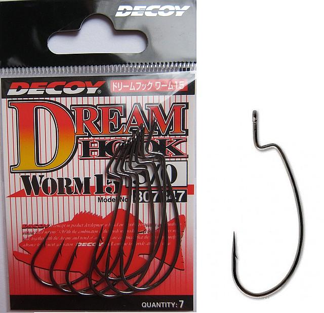 Набор крючков Decoy Dream Hook Worm 15 7-9шт