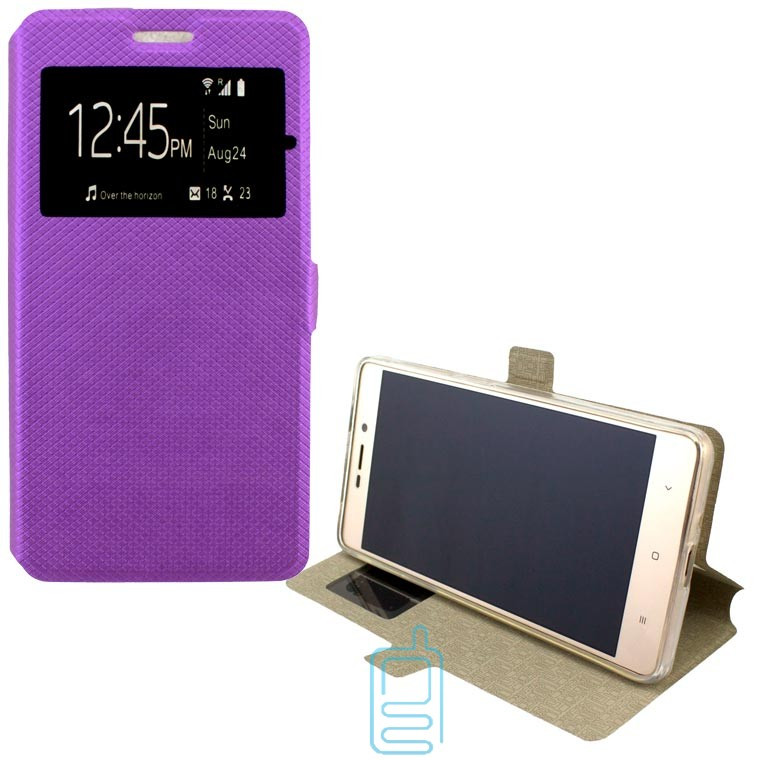 Чехол-книжка Modern 1 окно Lenovo Vibe K6 Note фиолетовый