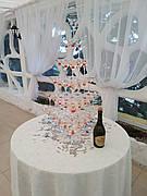 Піраміда з шампанського на 35 келихів