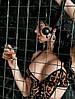 Сексуальное леопардовое боди с вырезами в интимной зоне, фото 3