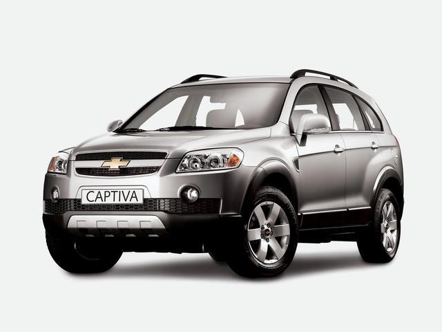 Chevrolet Captiva 2006↗ и 2011↗ гг.