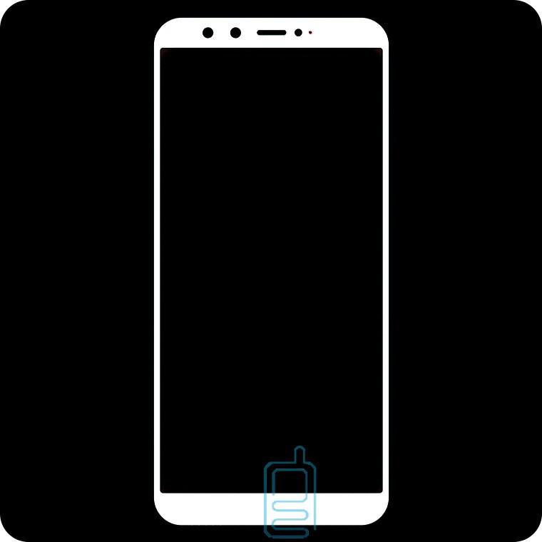 Защитное стекло Full Screen Huawei Honor 9 Lite 2018 white тех.пакет