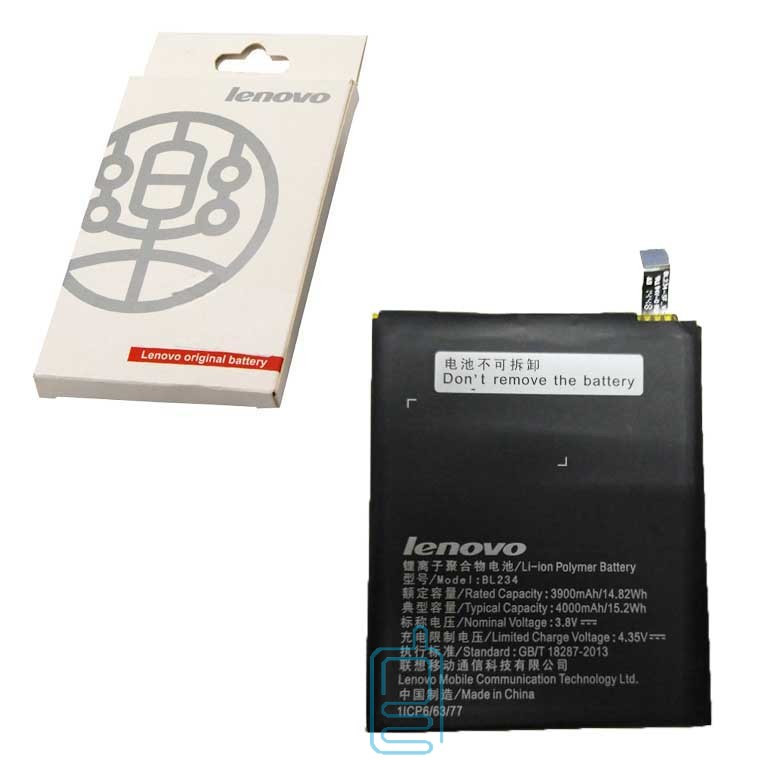 Аккумулятор Lenovo BL234 4000 mAh P70A, A5000, P90 AAA класс коробка
