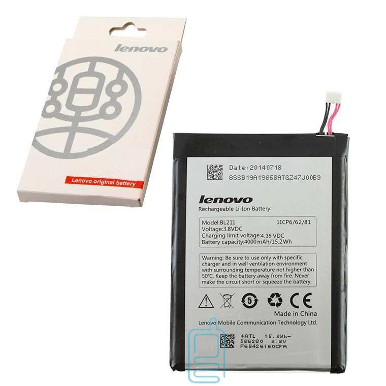 Аккумулятор Lenovo BL211 4000 mAh для P780 AAA класс коробка