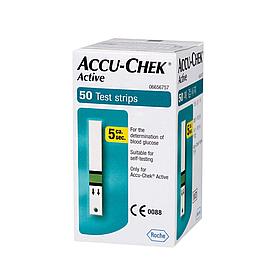 Тест-полоски Accu-Chek Active, 50 шт.