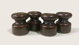 Ролик керамический коричневый «Ирис»