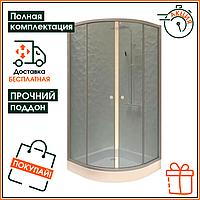 Душевая кабина Wave на мелком поддоне 100*100 с прозрачными стеклами 1010 1SG