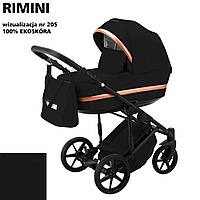 Коляска 2 в 1 Adamex Rimini ECO кожа 100% RI-205