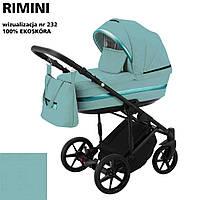 Коляска 2 в 1 Adamex Rimini ECO кожа 100% RI-232