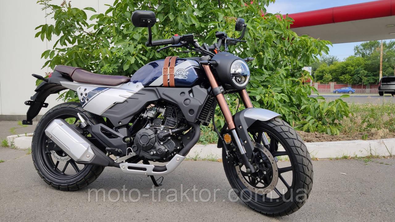 Мотоцикл Lifan KPM200 (LF200-3B) Scrambler (Cafe Racer)