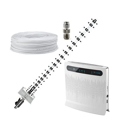 """Комплект """"Страна 4G"""" (Huawei B593 + 3G/4G/4.5G LTE Антенна """"Стрела"""" на 15 дБ), фото 2"""