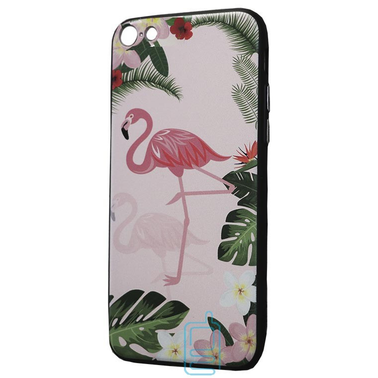Чехол Creative TPU+PC Apple iPhone 7, 8, SE 2020 Flamingo