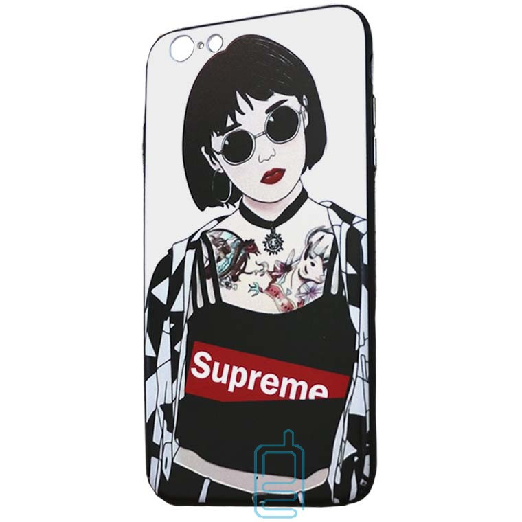 Чехол Creative TPU+PC Apple iPhone 6 Plus, 6S Plus Sup tattoo girl