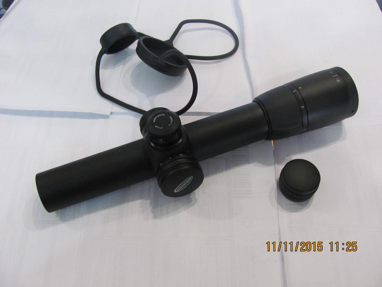 Прицел оптический , загонный, Weaver Tactical  Super Slam 1-5x24 IR  30 мм