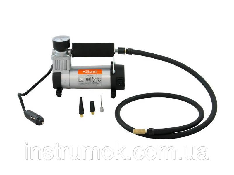 Компрессор воздушный для накачки шин МС8830 Sturm