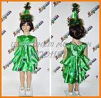 Карнавальное платье ёлочка для девочек