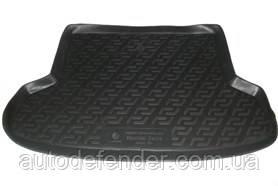 Килимок в багажник для Hyundai Accent 2006-2010 седан, резино/пластиковий (Lada Locker)