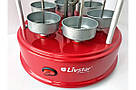 Электро-Шашлычница LIVSTAR, шашлычница электрическая TyT, фото 4