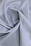 Тюль натуральный батист без блеска цвет белый в зал, гостиную, спальную. На метраж. Турция.