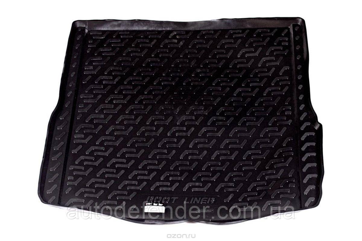 Коврик в багажник для Audi A6 C6 2004-2011 универcал avant +Allroad, резино-пластиковый (Lada Locker)