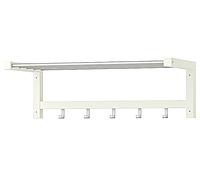 Вешалка настенная IKEA TJUSIG полка для головных уборов, 79x32h25 (401.526.33)