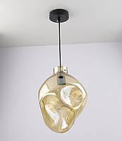 Люстра потолочная подвесная в стиле Loft (лофт) 0588/1A Черный 35х23х23 см.