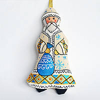 Николай Чудотворец. Ёлочная игрушка ручной работы