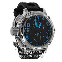 Мужские часы премиум класса U-BOAT Chimera Sideview blue