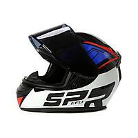 Мото шлем / Шлем для мотоцикла / мопеда / скутера /Шлем для квадроцикла / спортивного мотоцикла /Интеграл